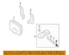 KIA OEM 06-12 Sedona TPMS Tire Pressure Monitor-Valve Stem Cap 529332G410