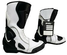 Stivali racing da x per moto con protezioni ANTITORSIONE marchio italiano WinNet