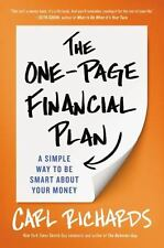 NEW - The One-Page Financial Plan: A Simple Way to Be Smart About Your Money