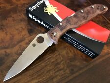 Spyderco Knife Endura 4 Zome Desert Camo Plain Edge VG-10 C10ZFPDCMO
