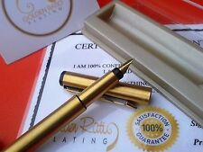 Luxury 24Ct Gold Plated Parker Vector Fountain Writing Pen Gift Boxed Free Ink