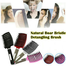 Natural Boar Bristle Detangling Nylon Brush