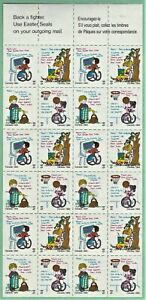 Canada - 1984 Easter Seals.  Full sheet of 24.