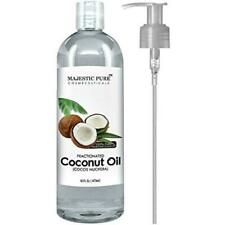 Majestic 6LS5IMZW9C Pure Fractionated Coconut Oil - 16oz