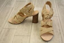 Very Volatile Kaia Heels - Women's Size 8 - Natural NEW!