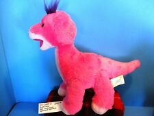 Build-a-Bear Brontosaurus Apatasaurus Diplodocus Pink/Purple plush(310-2849-3)