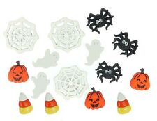 Jesse James Buttons - Dress It Up ~ Things That Go Boo 1201 ~ Halloween Crafts