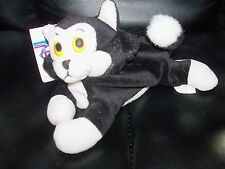 "Disney Store Bean Bag - Figaro 8"" from Pinocchio Nwt"
