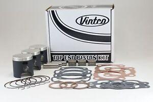 Kawasaki H1-500 1974 1975 KH500 1976 Top End Piston Kit 61.5mm 1.5mm Over