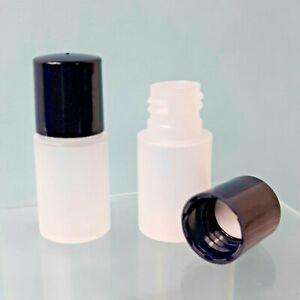 5ml Plastic Sample Test Tube Mini Small Bottles Vials Storage Containers 50 Pcs