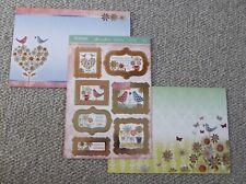 HUNKYDORY 3 SHEET CARD PROJECT KIT - HUGS AND KISSES