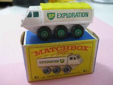 "VINTAGE 60/70´S MATCHBOX LESNEY ALVIS STALWART ""BP EXPLORATION"" Nº61"