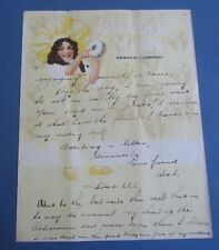 Old Vintage c.1920's - Armour and Company - Illustrated Letterhead Document