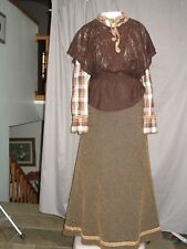 Victorian Dress Edwardian Western Prairie Civil War Farm Style Custom Designed