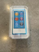 NEW IN BOX! iPod Nano 16GB Teal Blue 7th Generation MD477LL/A Free Shipping!