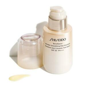 Shiseido Day Cream Moisturise Benefiance: Wrinkle Smoothing Emulsion SPF30 75ml