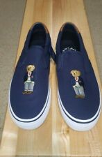 Ralph Lauren Thompson Polo Bear Mens Casual Slip On Sneaker Size 9