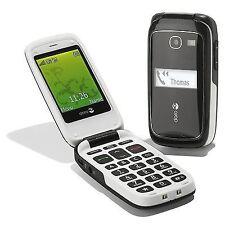 Doro Teléfono Cámara fácil 615 (Desbloqueado) Teléfono Móvil-Negro-Grado B-Garantía