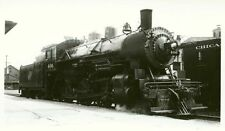 7B791 RP 1946 C&NW CHICAGO & NORTH WESTERN RAILROAD ENGINE #406