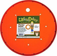 "Bloem Living T6320 Up's a Daisy Planter Insert, 10-Inch, Orange 12-14"" lift"