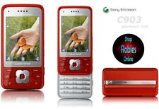 Sony Ericsson c903 CyberShot modèles rouge (Sans Simlock) 3 G 4 Volume 5mp radio bien