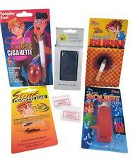 Smoker Joke Prank Kit - Shock Lighter Squirt Cigarette Bang Loads Gag Trick Fun