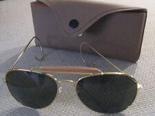 New! US WWII WW2  Aviator style Sun glasses Green lense-Great Birthday gift