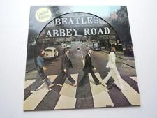 """THE BEATLES """"ABBEY ROAD"""" LP 1ST DUTCH PICTURE DISC LTD ED APPLE 1969 EX !"""