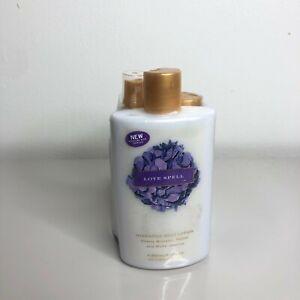 NEW Victoria Secret Love Spell bundle Lotion body wash body mist