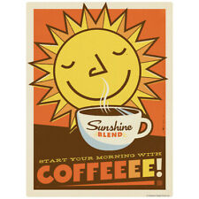 Sunshine Blend Coffee Decal 26 x 34 Peel and Stick Kitchen Decor