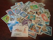 Collection lot 50 different stamps of Senegal