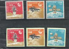ECUADOR SPACE - COSMOS MICHEL # 1307/12, MNH, VF