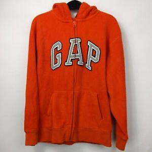Gap Boys Graphic Orange Gap Hoodie Age 12-13 Years