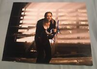 AMBER HEARD SIGNED 8X10 PHOTO STEPFATHER B W/COA+PROOF RARE WOW