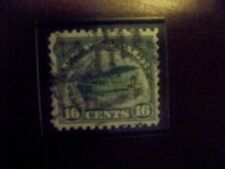 USA Used, 1918 Issue, 16 Cent  Emblem of Air service, Scott #C2.