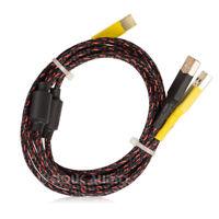 HiFi Power Supply&Audio Signal Splitter Cable for USB DAC Decoder Pure Handmade
