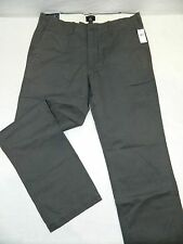 Tag: 33x34 New GAP Brand Vintage Gray Straight Fit Cotton Chino Pants