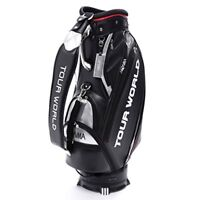 2018 NEW Honma Golf Caddy Bag TOUR WORLD CB-1807 Men's Black from japan