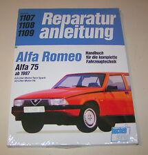 Reparaturanleitung Alfa Romeo 75 - ab Baujahr 1987!