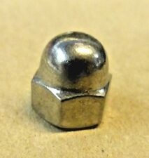 1/4-20  STAINLESS STEEL  ACORN  LOCK NUTS WITH  NYLON INSERTS