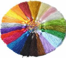 Lady-Muck3:10 Pieces Silk tassels size 130x6mm; Tassel: 80mm Craft, Sewing,