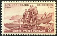 Scott#: 1063 - Lewis and Clark Single Stamp MNH OG