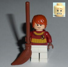 HARRY POTTER #61 Lego Ron Weasley Quidditch Custom (Genuine Lego Parts) NEW