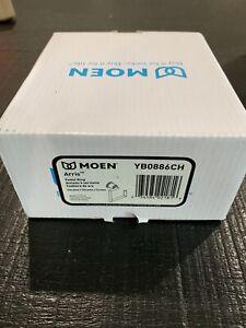 Moen YB0886CH Arris Modern Hand Towel Ring Holder Chrome