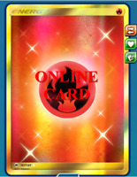 Fire Energy Secret Rare Pokemon TCG Online - Digital Card - PTCGO