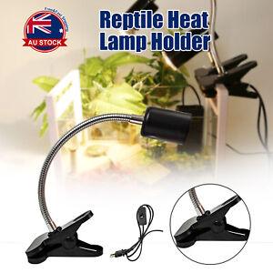 Ceramic Heat UV UVB Lamp Light Holder For Chicken Brooder Reptile Basking J