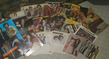 Lot Osmonds Brothers Donny Marie 1975 TOUR PROGRAM Puzzle MAG CLIPPINGS Posters