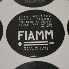 Ferrari FIAMM Horn Compressor Decal 308 328 Dino GT4