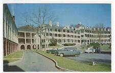 Motor Inn 50s Cars Natural Bridge Virginia postcard