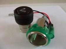 12v Iluminado coche cigarrillo encendedor & enchufe accesorio (universal) de potencia